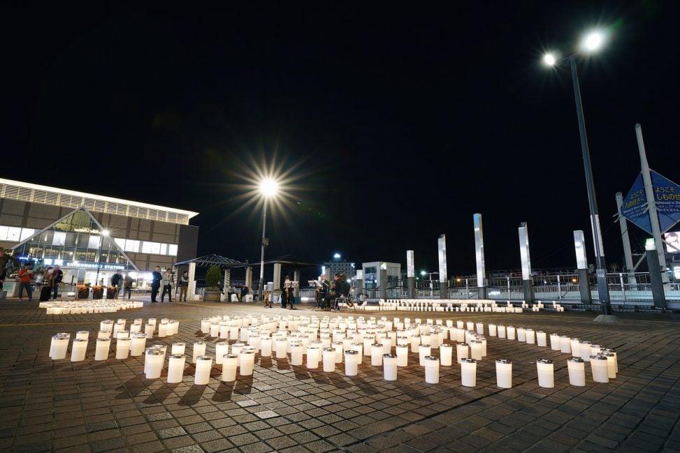 関門海峡キャンドルナイト2019/下関駅