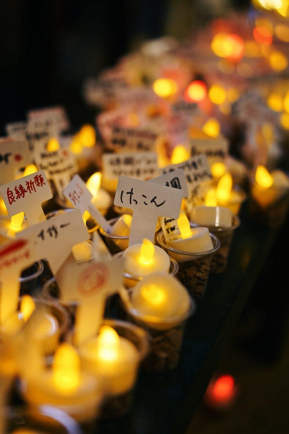 関門海峡キャンドルナイト2019/英国領事館
