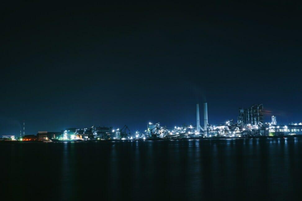 周南市工場夜景