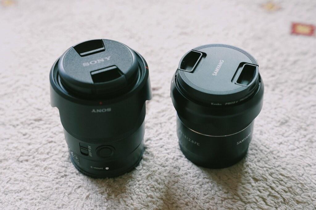 FE35mm F1.8との比較