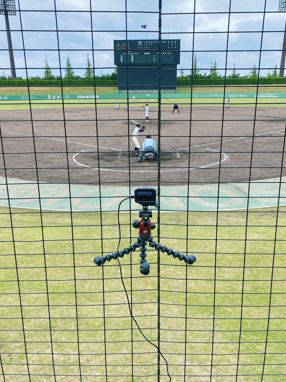 野球撮影時